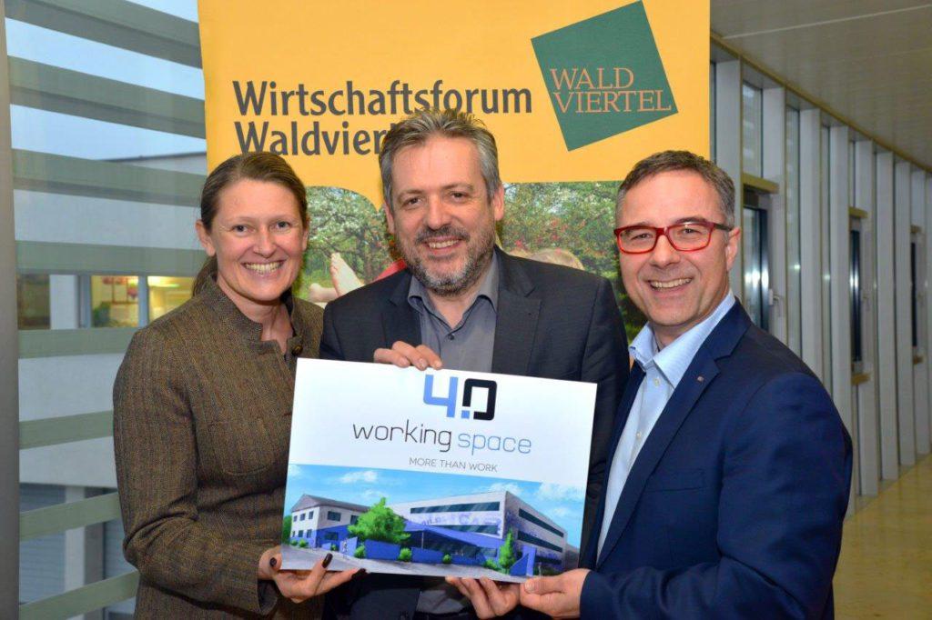 Wirtschaftsforum Waldviertel unterstützt workingspace 4.0